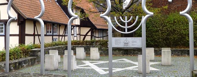 Jüdisches Mahnmal in Bad Salzuflen - Ziel einer thematischen Stadtführung